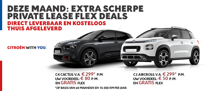 Actie Private Lease - Mei 2020