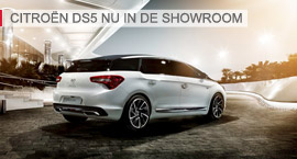 CITROËN DS5 nu in de showroom
