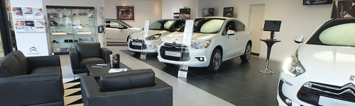 DS Showroom Bouwman Ommen