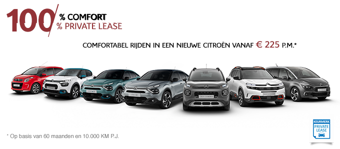 Citroën Private Lease