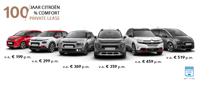 Citroen Private Lease